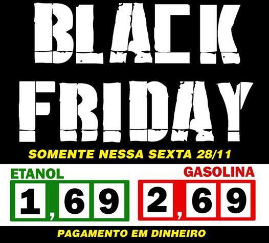 ETANOL e GASOLINA a preços de BLACK FRIDAY